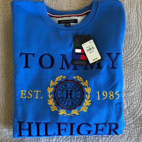 tommy hilfiger crest logo